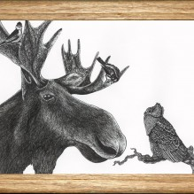 moose and friends frame